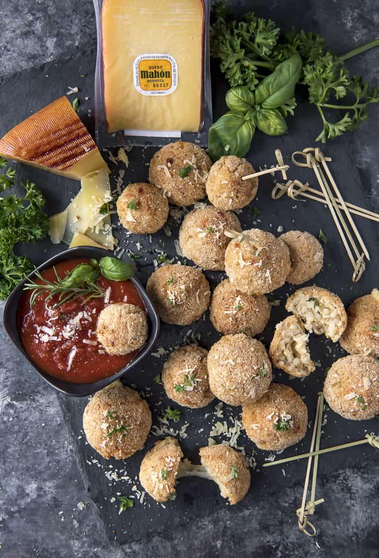 Sicilian Arancini Rice Balls recipe