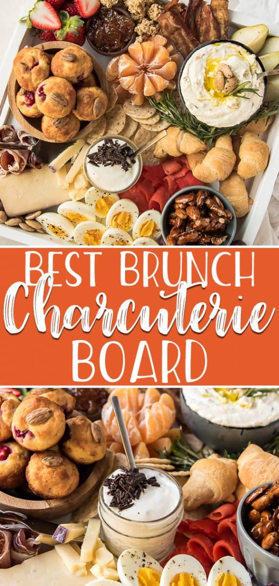Whether it's a holiday or a Sunday morning in May, a Brunch Charcuterie Board is a winning idea for a knockout get-together! Pile up an impressive display full of your favorite brunch items and wow your guests - all with very little work involved.
