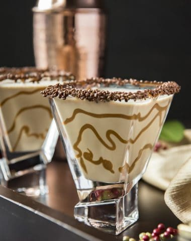 Salted Caramel Chocolate Martini