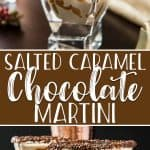 If you're looking for a tasty nightcap, this creamy Salted Caramel Chocolate Martini will leave you dreaming sweet dreams! Made with chocolate liqueur, Irish cream, vodka, and a touch of salted caramel, this easy yet sophisticated cocktail will have everyone asking for one of their own.