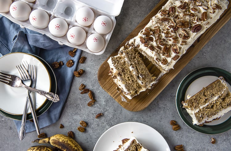 Hummingbird Cake Bar