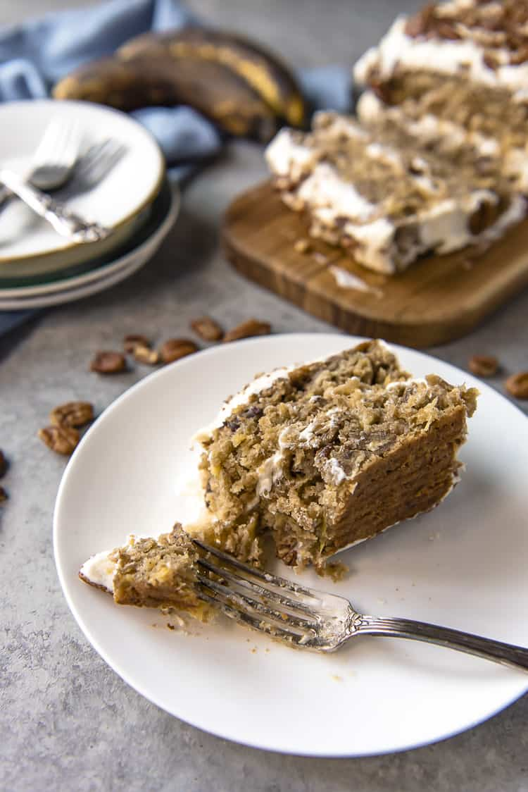 Easy Hummingbird Cake Bar