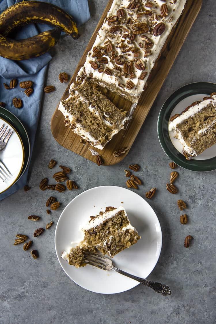 Moist Hummingbird Cake Bar