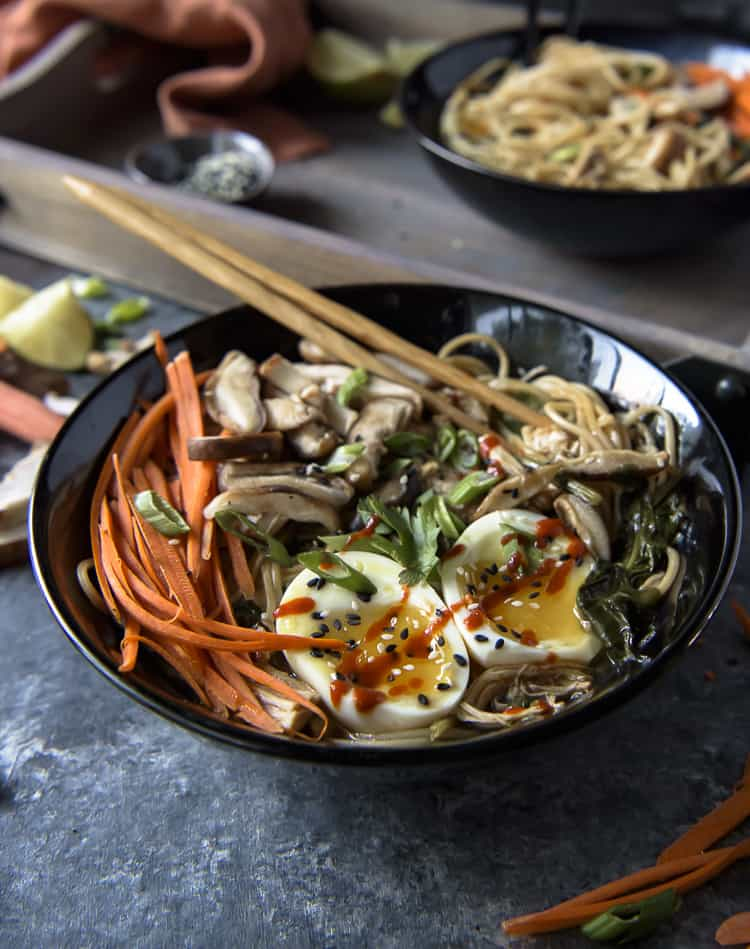 Instant Pot Spicy Chicken Ramen