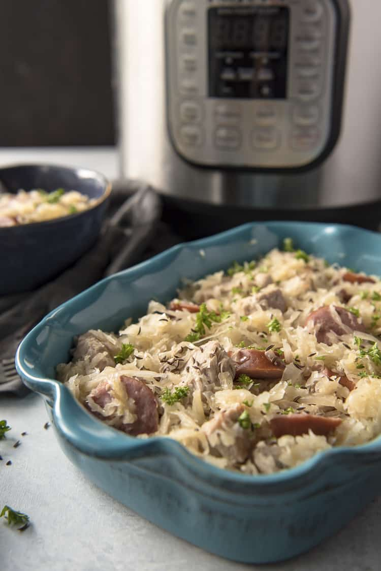 Instant Pot Pork and Sauerkraut