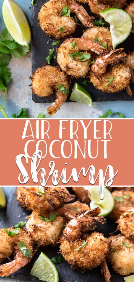 Take a weekday vacation to paradise with a batch of these crunchy, juicy, golden Coconut Shrimp! This popular restaurant appetizer is so easy to make at home, and using your air fryer to cook it is a much healthier alternative.
