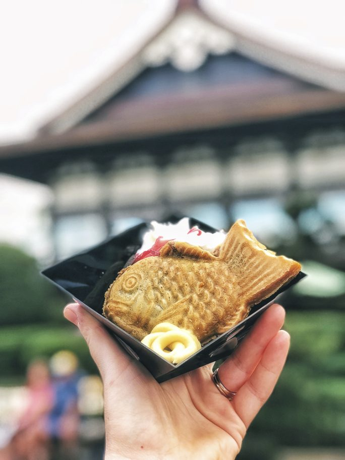 Red Bean Taiyaki from Takumi Table at the Epcot Festival of the Arts