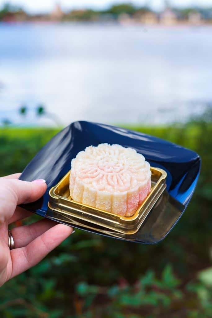 A Crystal Mooncake from The Painted Panda Epcot Festival of the Arts