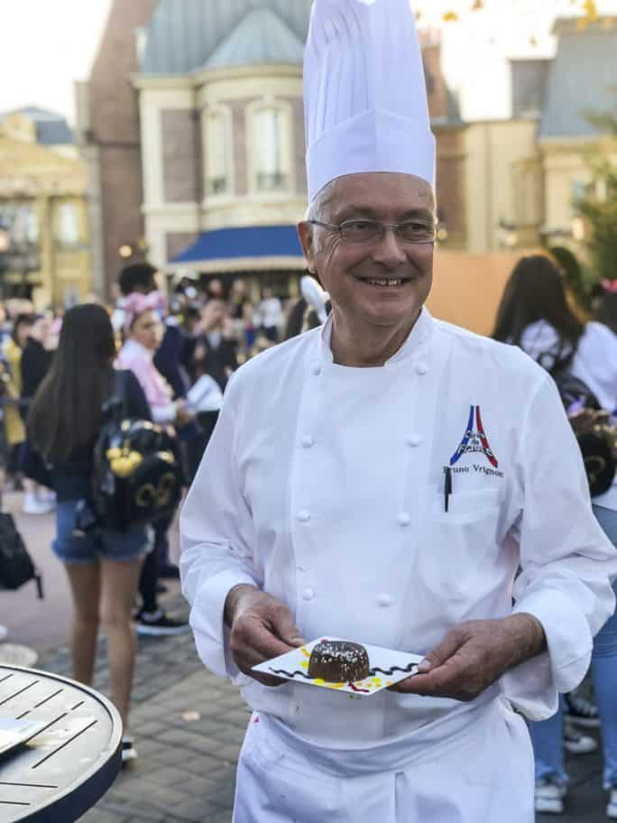 Chef Bruno Vrignon from L'Art du Cuisine Francaise – France at Epcot