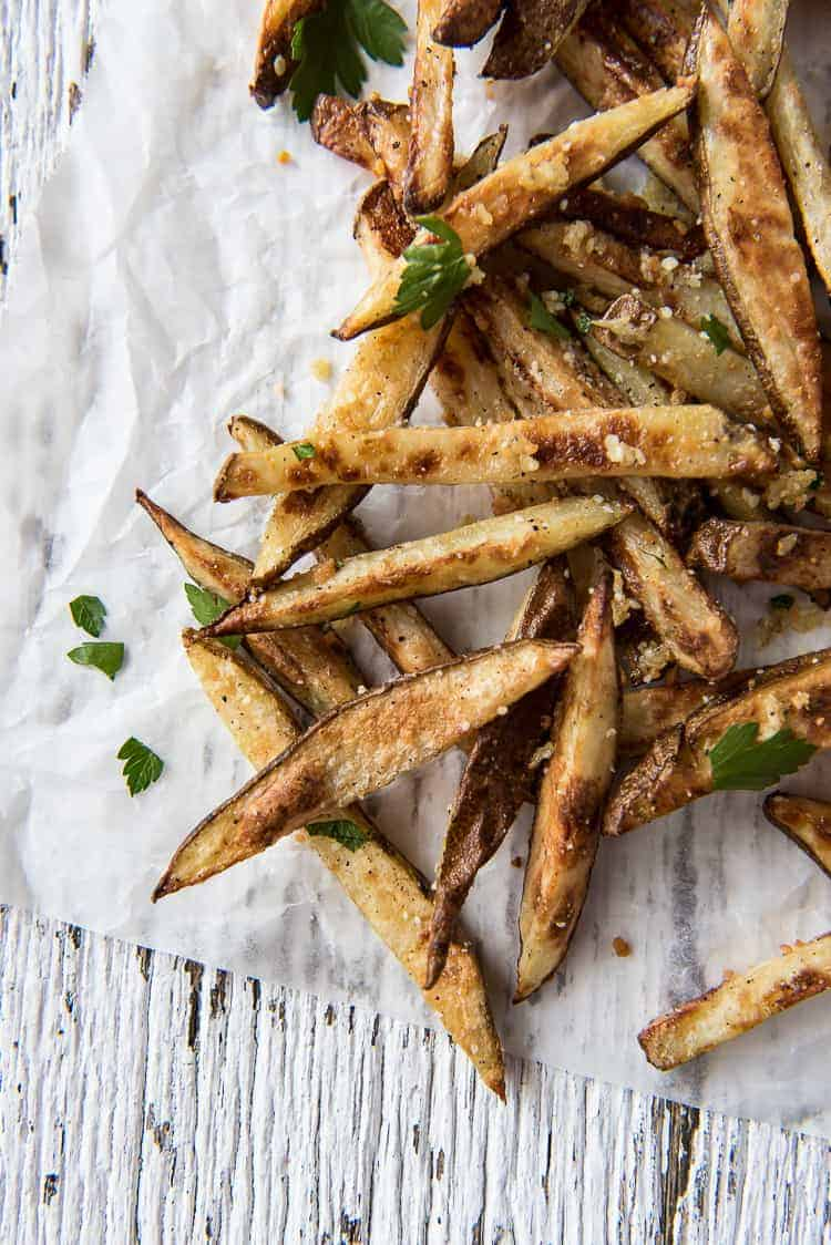 Baked Garlic Truffle Fries