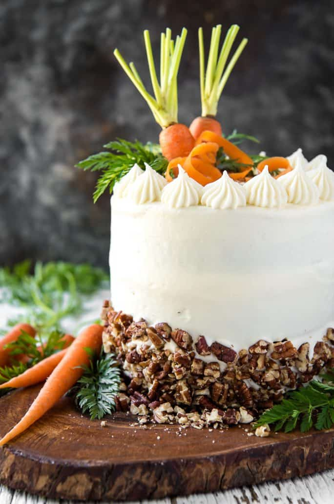 Easy homemade Buttermilk Carrot Cake recipe