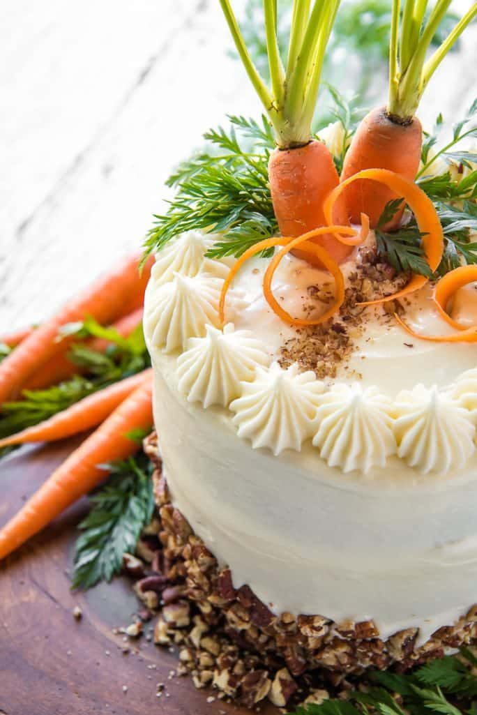 Best-Ever Buttermilk Carrot Cake #SpringSweetsWeek • The ...