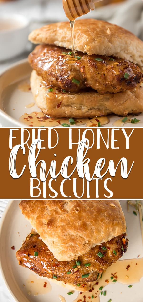 Skip the drive-thru and whip up your own irresistible fried Chicken Biscuits for dinner tonight! Easy homemade honey-buttermilk biscuits team up with air fryer chicken, spicy hot honey, and fresh chives for a flavor combo that's sure to be a new favorite.