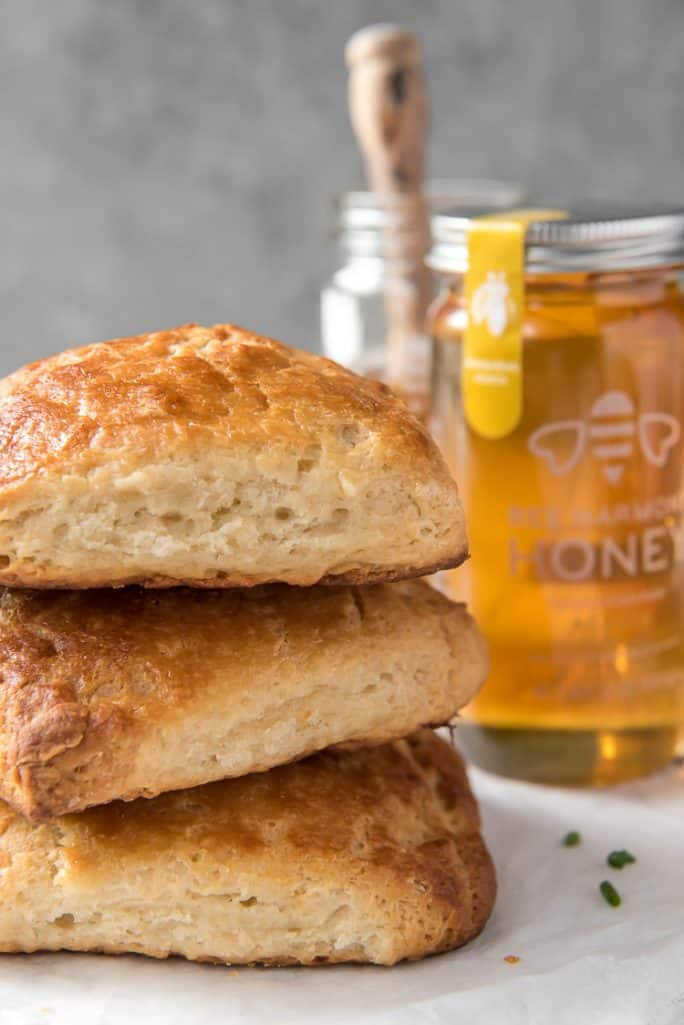 An easy honey-buttermilk biscuit recipe