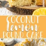 Citrus lovers rejoice - this tender Coconut Lemon Pound Cake is right up your alley! Made with fresh Meyer lemon juice and zest, coconut milk, and shredded coconut, this super moist, smaller-sized bundt cake is perfect for a Sunday brunch or after-dinner dessert.