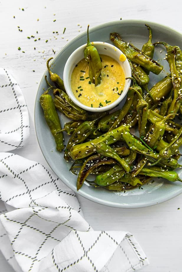Instant Pot Blistered Shishito Peppers