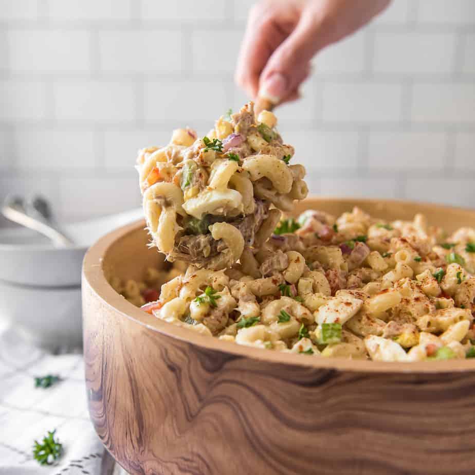 Southern-Style Tuna Macaroni Salad