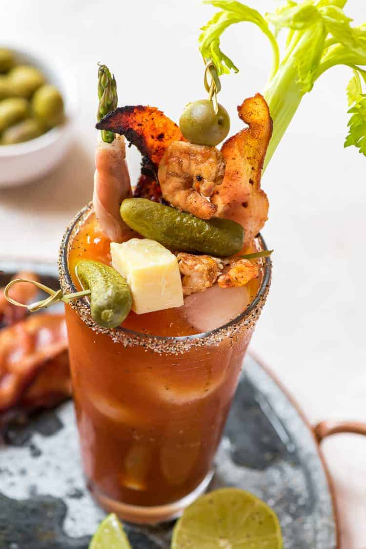 Classic Bloody Mary Recipe The Crumby Kitchen