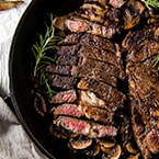 Perfect Cast Iron Steak