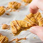 Soft Baked Peanut Butter Pumpkin Dog Treats